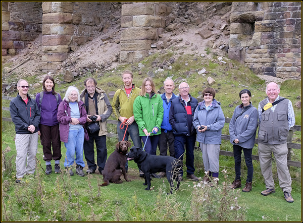 History Walkers and Dogs - East Mines Stone Kilns  -14 September