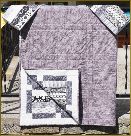 The quilt and two pillow cases