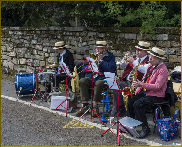 The Rosedale Swing Band in fine form