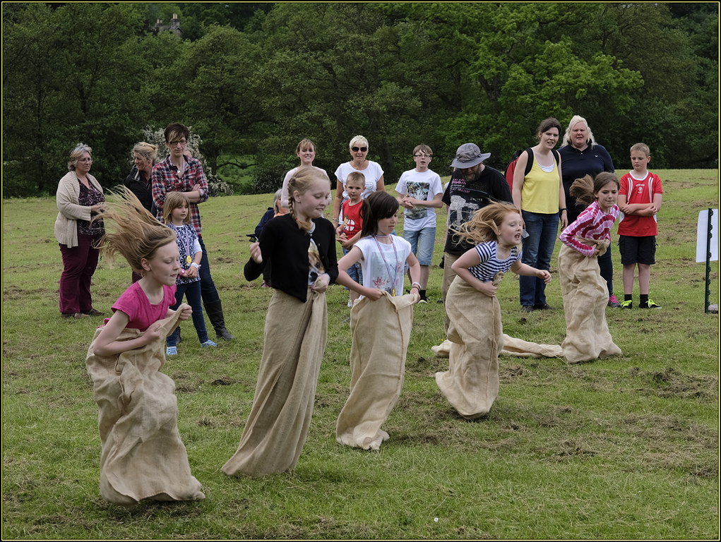 Girls' Sack Race