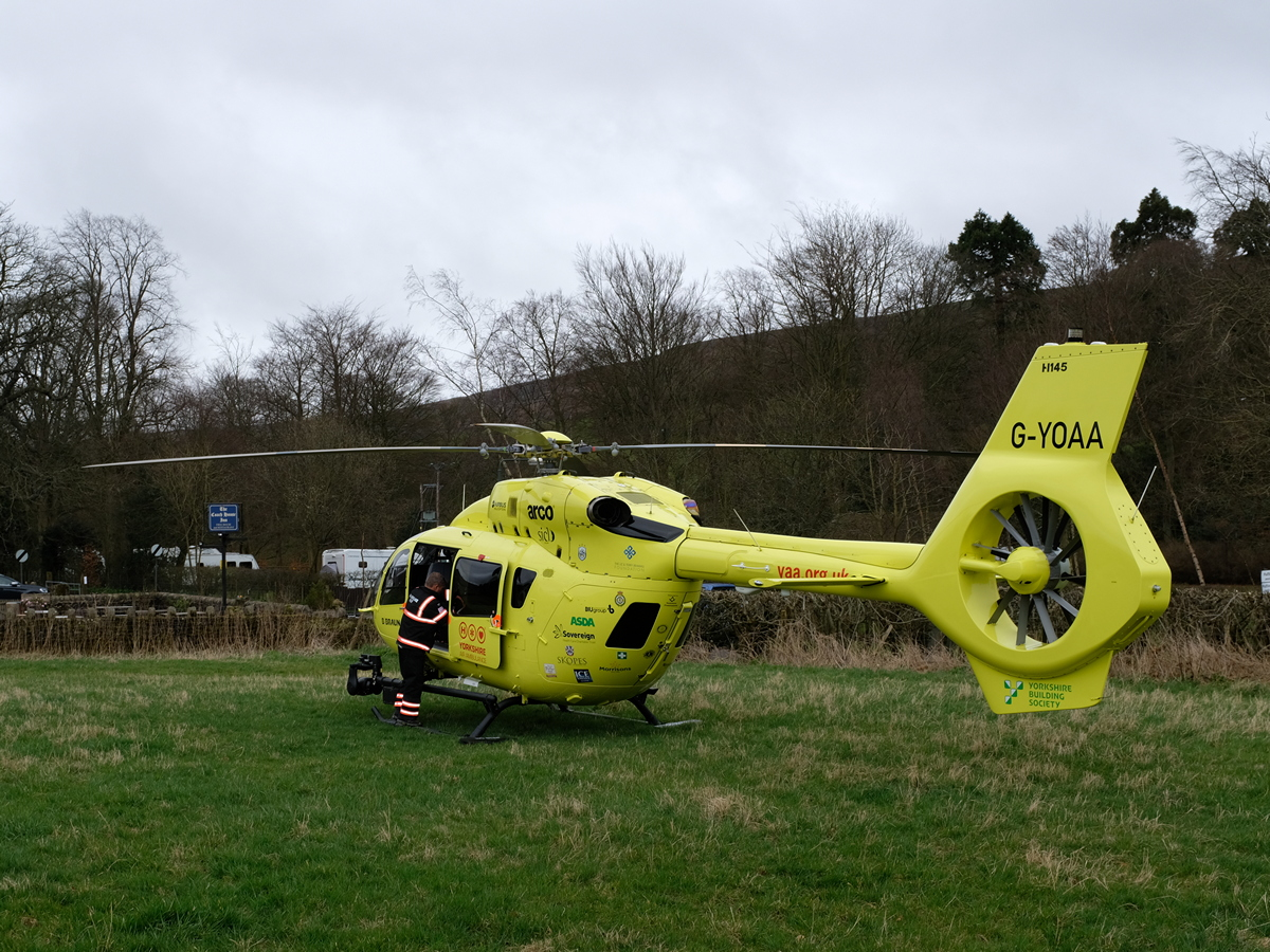 One of the YAA's new Airbus/Eurocopter  helicopters